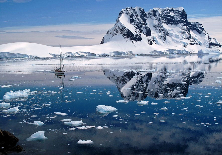 Antarctica boat based ski and kayak adventure