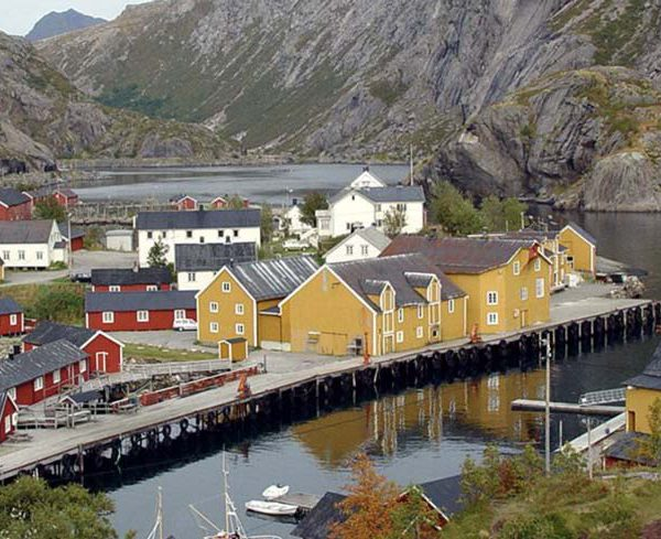 Lofoten Islands BnB Kayaking Experience Nusfjord Accommodation