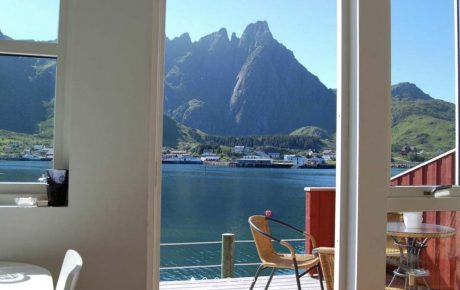 Lofoten Norway BnB Kayaking Experience Accommodation Ballstad
