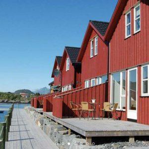 Lofoten Norway BnB Kayaking Experience Accommodation Ballstad
