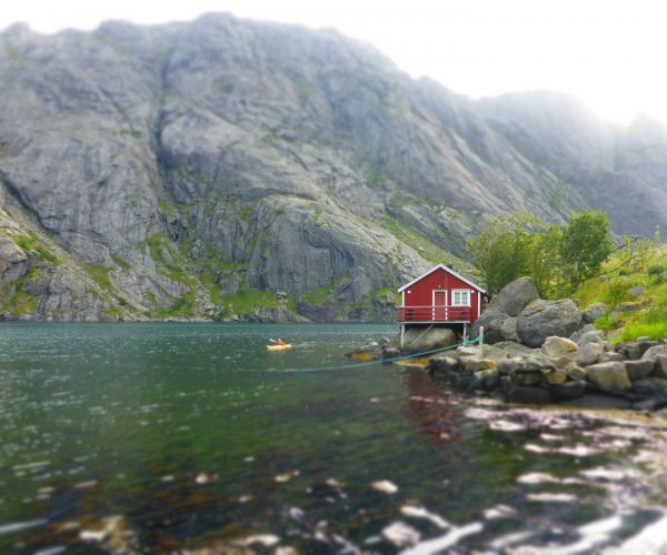 Lofoten Islands Kayak BnB Experience