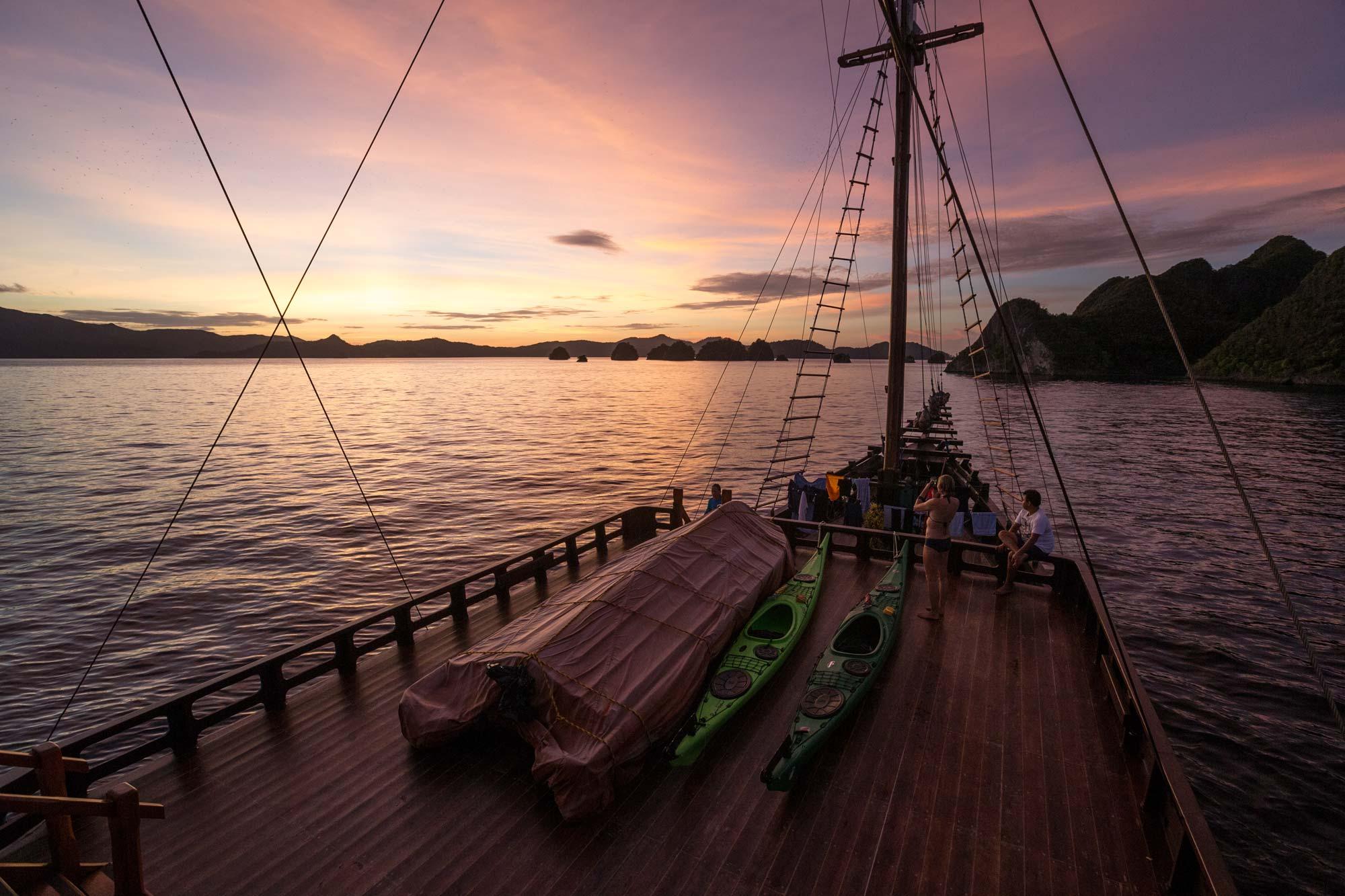 Kayak Tours, Raja Ampat, Kayak Vacations