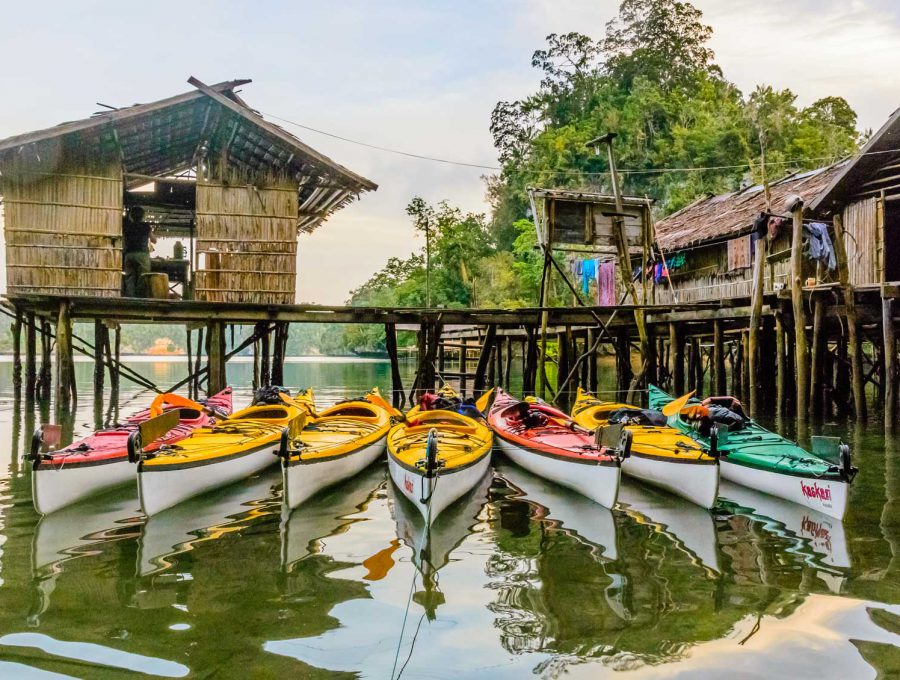 Raja Ampat Kayaking and Homestay Experience