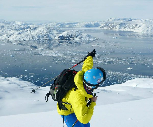East Greenland Heli Ski Tour with Expedition Engineering