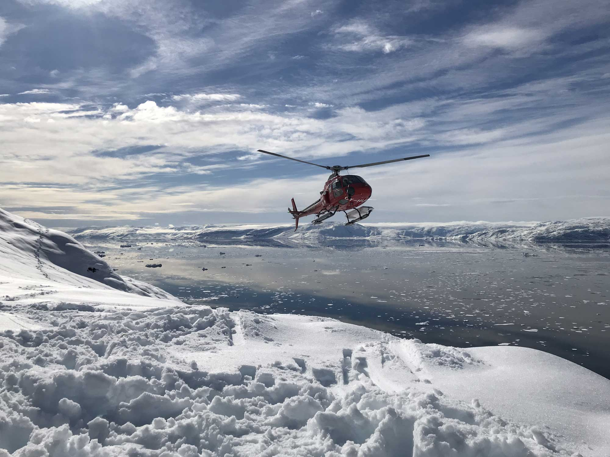 East Greenland Heli Ski Expedition