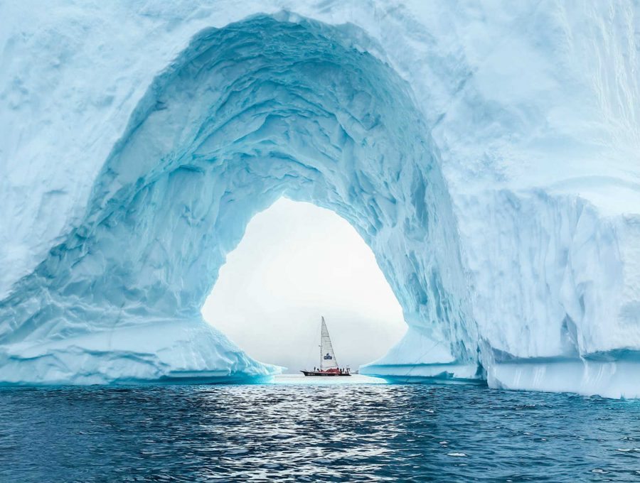 Baffin island kayak and sail adventure