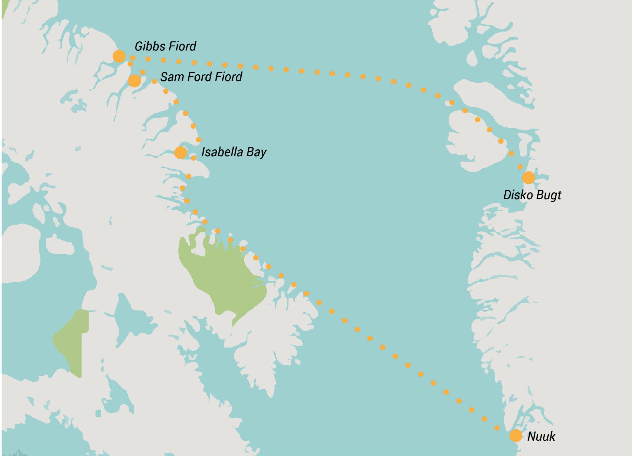 Baffin Island, Kayak baffin island