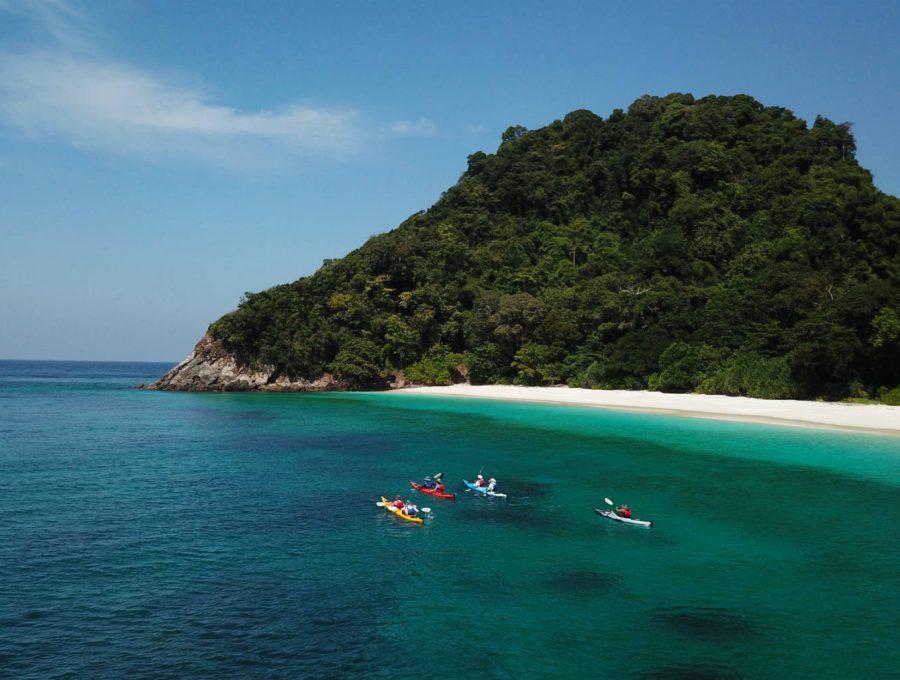 Kayaking Myanmar