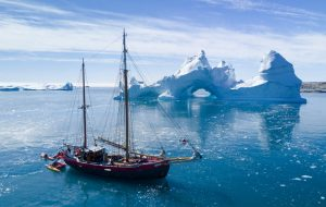 Sailing in Greenland