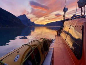 Baffin Island sailing
