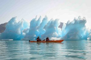 Kayaking Icebergs