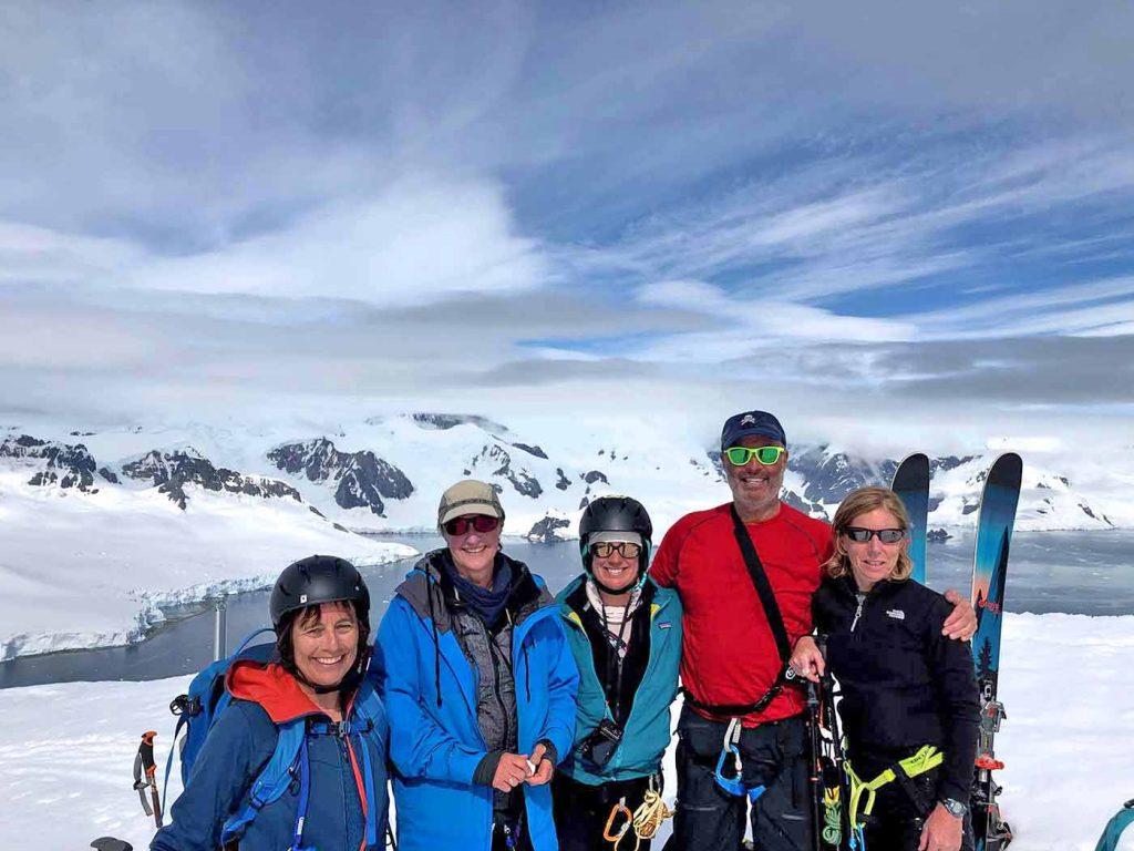 Ski adventures Antarctica