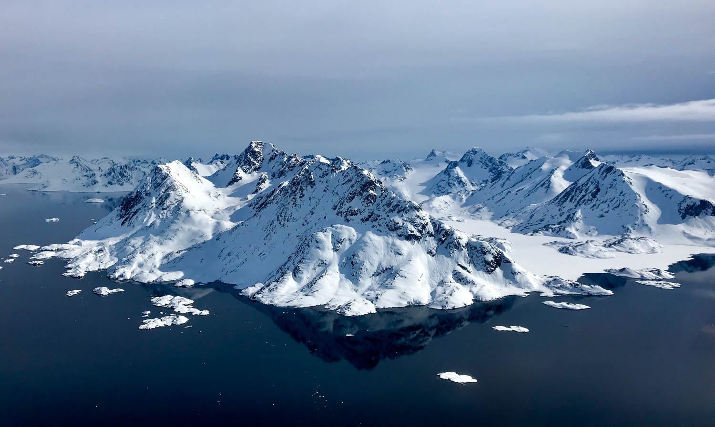 East Greenland fjords